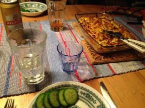 Middag 2 stugan