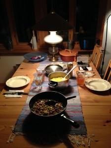 Middag stugan
