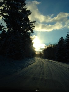 Vägen till Blidö